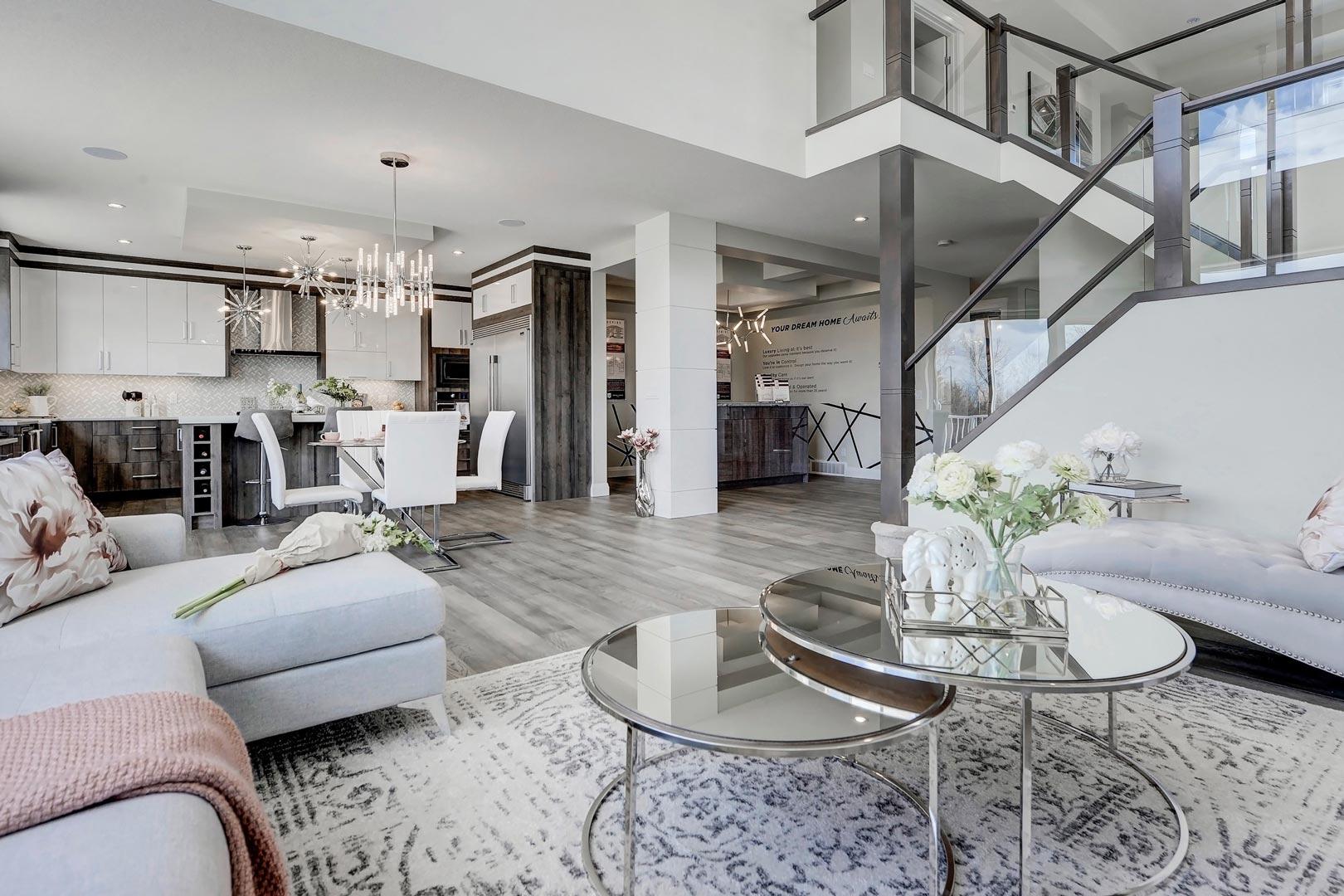 Green Cedar Homes Interior Image - Living Room