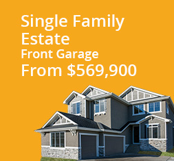 Single Family Estate - Front Garage From $679,900