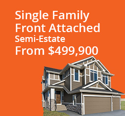 Single Family Semi Estate - Front Garage From $530,900