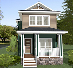 Artistique Homes Ltd. - Waterford Showhome Rendering