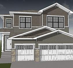 Devine Custom Homes - Waterford Showhome Rendering