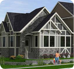 Douglas Homes - Waterford Showhome Rendering